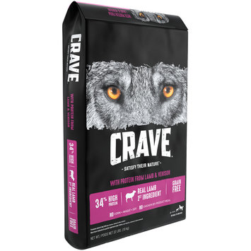 Crave™ with Protein from Lamb & Venison 1+ Years Premium Dog Food 22 lb. Bag
