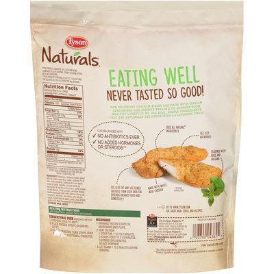 Tyson® Naturals™ Italian Style Lightly Breaded Chicken Breast Strips 20 oz. Bag