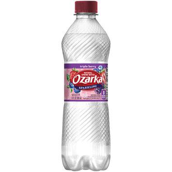 OZARKA Sparkling Natural Spring Water Triple Berry 0.5L Bottle