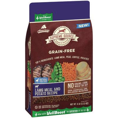 Supreme Source® Grain-Free Lamb Meal and Potato Recipe Dog Food 6 lb. Bag