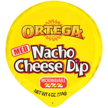Ortega® Medium Nacho Cheese Dip 4 oz. Microcup