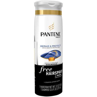 Pantene Pro-V Repair & Protect Miracle Repairing Shampoo 12.6 fl. oz. Bottle with Free Hairspray