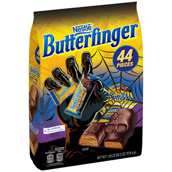 BUTTERFINGER Mini/Peanut Butter Cup Skull Candy 44 Pieces, 20.3 oz. Bag