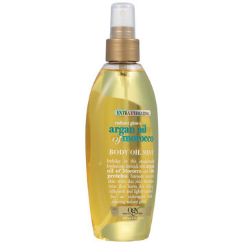 OGX® Radiant Glow + Argan Oil Of Morocco Body Oil Mist Pump