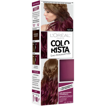 L'Oreal® Paris Colorista Semi-Permanent Color #Maroon22 4 fl. oz. Box