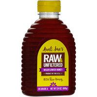 Aunt Sue's® Raw & Unfiltered Wildflower Honey 24 oz. Bottle