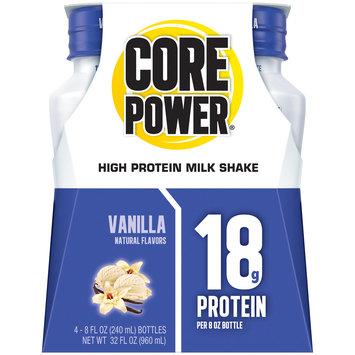Core Power® Vanilla High Protein Milk Shake 4-8 fl. oz. Bottles