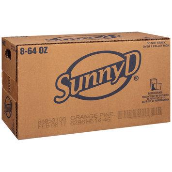 Sunny D® Orange Pineapple Citrus Punch 8-64 fl. oz. Bottles