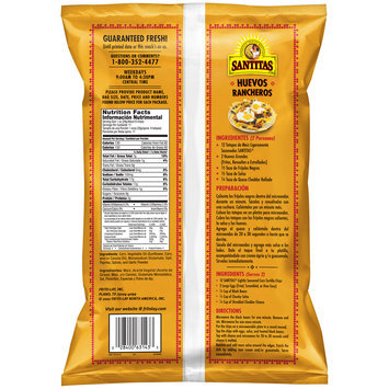 Santitas Lightly Seasoned Tortilla Chips 11 oz. Bag