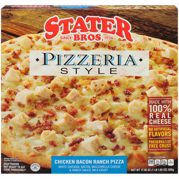 Stater Bros.® Pizzeria Style Chicken Bacon Ranch Pizza 17.95 oz. Box