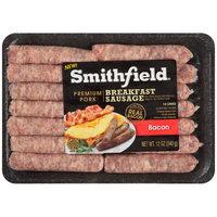 Smithfield® Bacon Pork Breakfast Sausage Links 12 oz. Tray