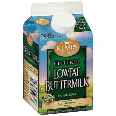 Kemps® Cultured Lowfat Buttermilk 1 pt. Carton