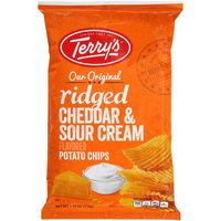 Terry's® Our Original Ridged Cheddar & Sour Cream Flavored Potato Chips 7.75 oz. Bag
