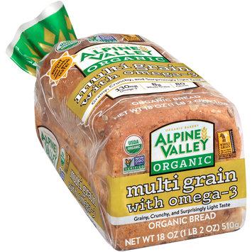 Alpine Valley™ Organic Multi Grain with Omega-3 Bread 18 oz. Bag