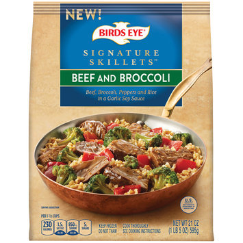 Birds Eye® Signature Skillets™ Beef and Broccoli 21 oz. Bag
