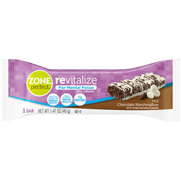 Zone Perfect® Revitalize Hot Chocolate Marshmallow Nutrition Bar 1.41 oz. Wrapper