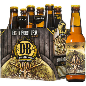 Devil's Backbone Brewing Company Eight Point I.P.A. India Pale Ale 6-12 fl. oz. Bottles