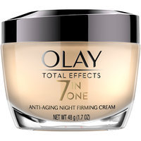 Total Effects Olay Total Effects Anti-Aging Night Firming Cream, Face Moisturizer 1.7 fl oz