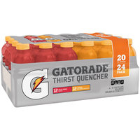Gatorade® Fruit Punch/Orange Sports Drink 24-20 fl. oz. Pack