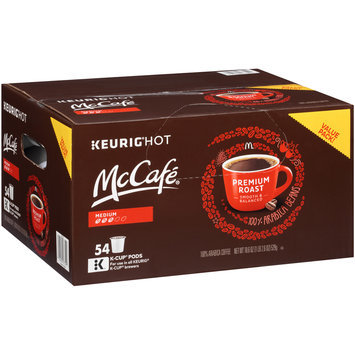McCafe® Premium Roast Coffee K-Cup® Pods 54 ct Box