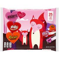 Hershey Valentine's Snack Size Assortment 25 ct Bag