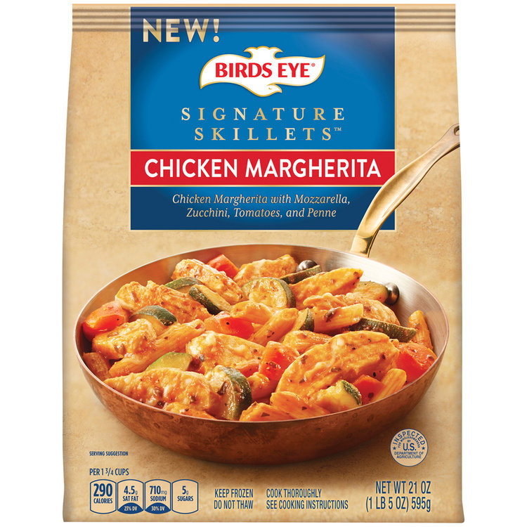 birds eye® signature skillets™ chicken margherita