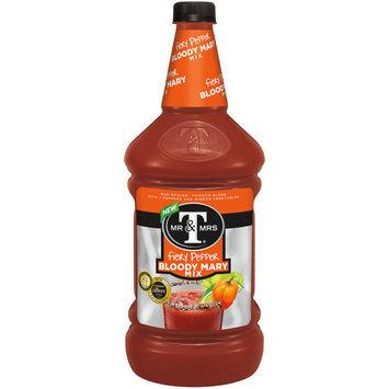Mr & Mrs T Fiery Pepper Bloody Mary Mix, 1.75 L Bottle