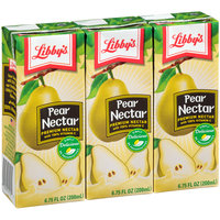 LIbby's® Premium Pear Nectar with 100% Vitamin C 3-6.75 fl. oz. Aseptic Pack
