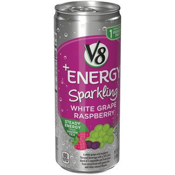 V8® +Energy Sparkling White Grape Raspberry Juice