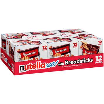 Nutella® & Go! Hazelnut Spread + Breadsticks 6-22 oz. Tray