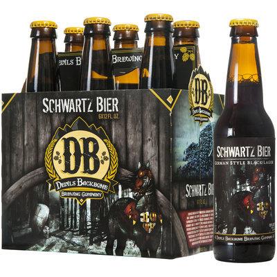 Devil's Backbone Brewing Company Schwatz Bier German-Style Black Lager 6-12 fl. oz. Bottle