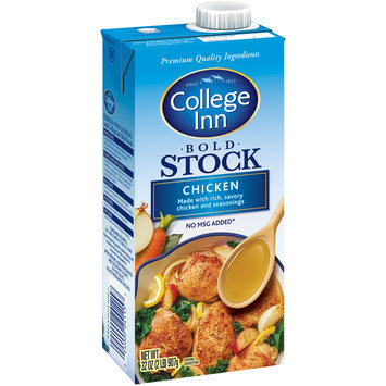 College Inn® Bold Chicken Stock 32 oz. Aseptic Carton