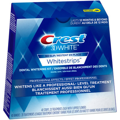 Whitestrips Profesnl Whtng Sys Crest 3D White Whitestrips Professional Effects, 20 Treatments