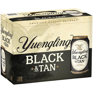 Yuengling® Black & Tan Porter & Premium Beer 12-12 fl. oz. Cans
