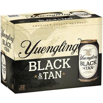 Yuengling® Black & Tan Porter & Premium Beer 12-12 fl. oz. Cans