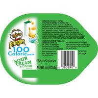 Pringles® Sour Cream & Onion Flavored Potato Crisps 0.63 oz. Tub