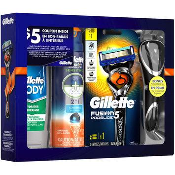 Gillette® Body Wash, Shave Gel, Razor Cartridges & Razor with Bonus Premium Razor Case 6 pc Box