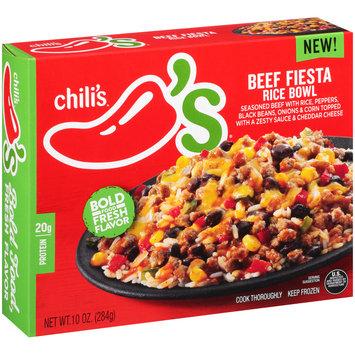 Chili's® Beef Fiesta Rice Bowl Frozen Dinner 10 oz. Box