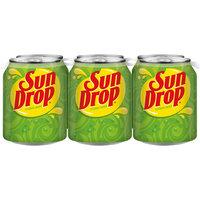 Sun Drop, 8 Fl Oz Cans, 6 Pack