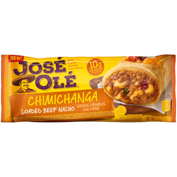 Jose Ole® Loaded Beef Nacho Chimichanga