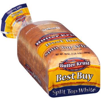 ButterKrust® Split Top White Enriched Bread 20 oz. Bag