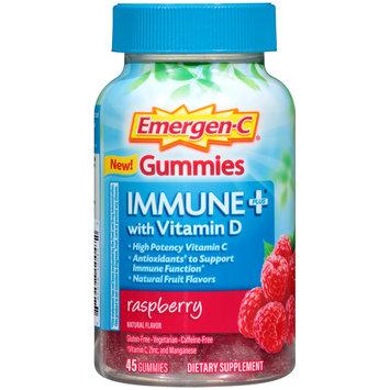 Emergen-C® Raspberry Immune Plus® with Vitamin D Dietary Supplement Gummies 45 ct