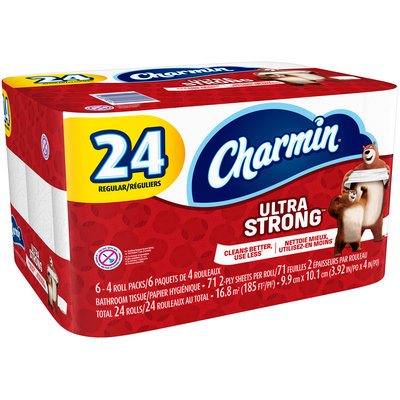 Charmin® Ultra Strong® Toilet Paper 24 ct Pack