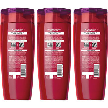 L'Oreal Paris Elvive Color Vibrancy Intensive Shampoo 3-12.6 fl. oz. Bottles