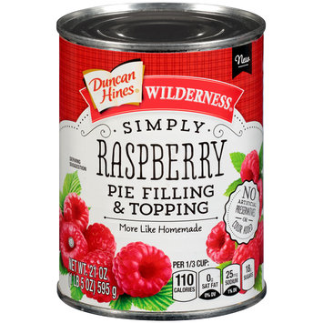 Duncan Hines® Wilderness® Simply Raspberry Pie Filling & Topping 21 oz. Can