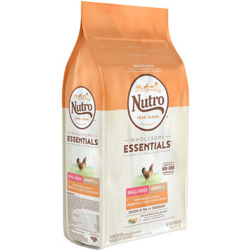 Nutro Feed Clean™ Wholesome Essentials™ Farm-Raised Chicken, Brown Rice & Sweet Potato Recipe Small Breed Puppy Up to 1 Year Dog Food 5 lb. Bag