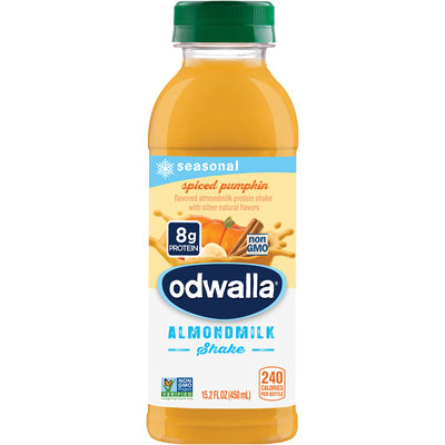 Odwalla® Spiced Pumpkin Almondmilk Shake 15.2 fl. oz. Bottle