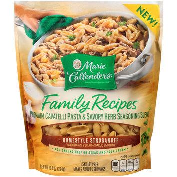 Marie Callender's® Family Recipes Homestyle Stroganoff Pasta & Seasoning Blend Skillet Prep 10.4 oz. Bag