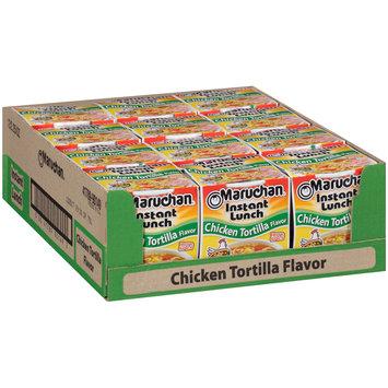 Maruchan® Instant Lunch™ Hot & Spicy Chicken Tortilla Flavor Ramen Noodle Soup 1 Cups