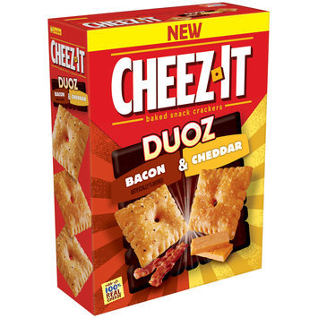 Cheez-It Duoz® Bacon & Cheddar Baked Snack Crackers 12.4 oz. Box